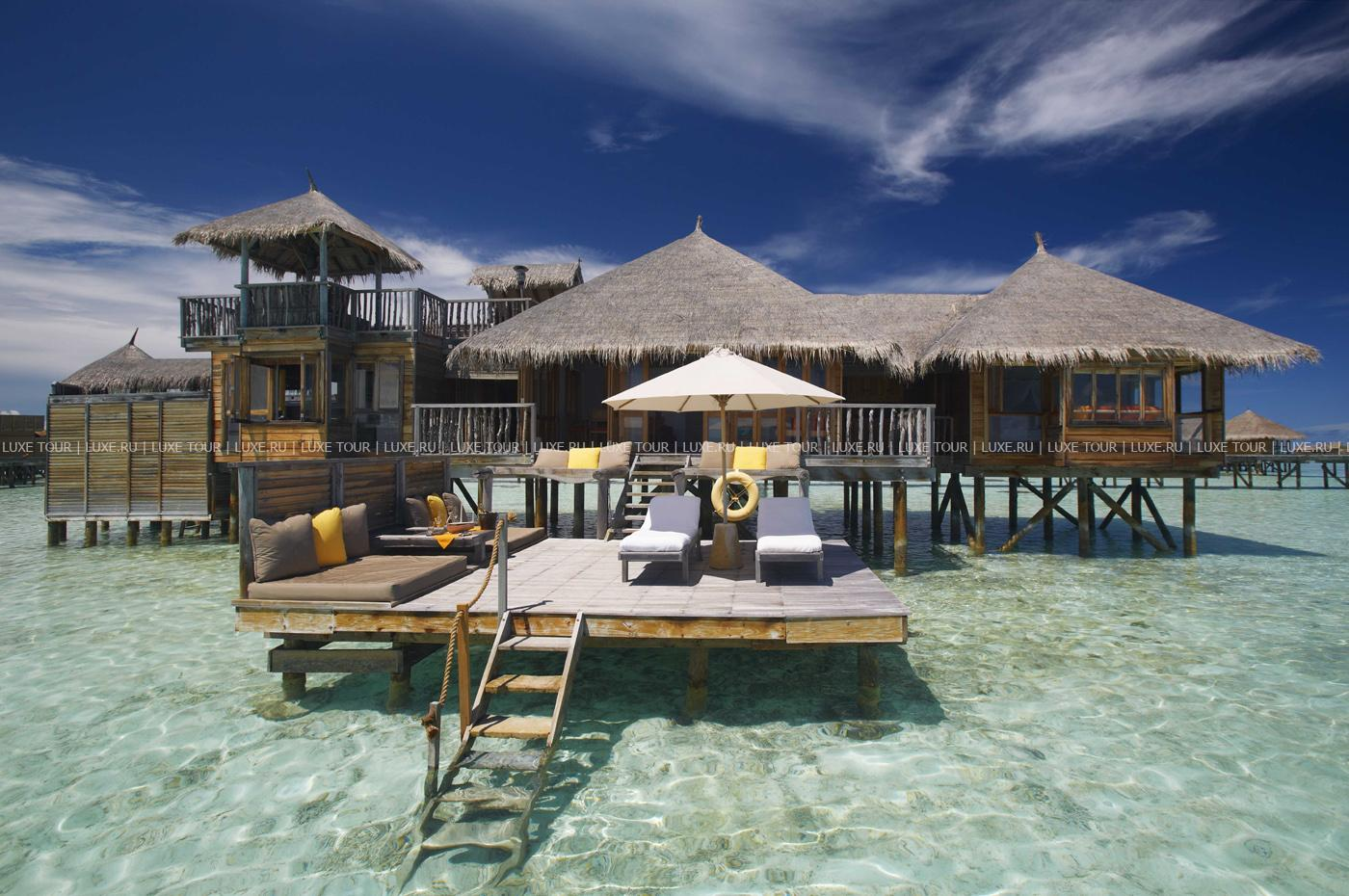Смотреть Отель Gili Lankanfushi на Мальдивах видео