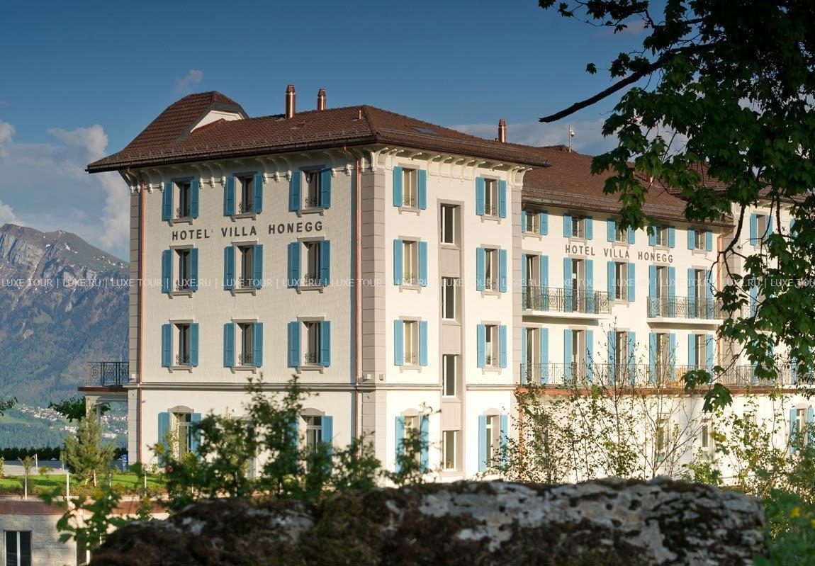 Hotel Villa Honegg pour hotel villa honegg, Эннетбюрген