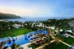 Shoreline resort panorama